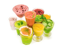 sunda smoothies Royaltyfria Bilder