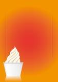 sundae πάγου κρέμας διάνυσμα Στοκ φωτογραφία με δικαίωμα ελεύθερης χρήσης
