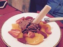 Sundae десерта Стоковая Фотография