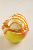 Sundae Яблока карамельки Стоковые Фотографии RF