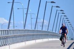 Sundale桥梁在英属黄金海岸昆士兰澳大利亚 图库摄影