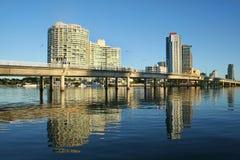 Sundale Bridge Gold Coast royalty free stock images