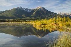 Sundance Double Peak Reflections Stock Images