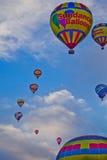 Sundance gorącego powietrza balony Przy Albuquerque balonu fiesta Zdjęcie Stock