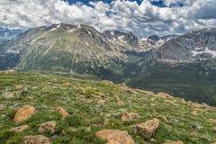 Sundance Mountain, Rocky Mountain National Park, CO Royalty Free Stock Photos
