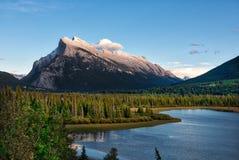Sundance Peak, Banff Stock Photography
