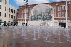 Sundance Square, Forth Worth, Texas Royalty Free Stock Photos