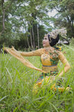 Sundanesedansare arkivbilder