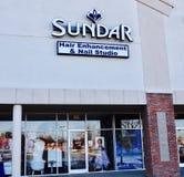 Sundar Włosiany salon, Memphis, TN obraz royalty free