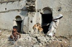 sundarban cyklonu peole Zdjęcie Royalty Free