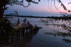 Sundarban - local do patrimônio mundial Fotos de Stock