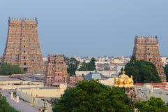 sundareswarar meenakshi świątynia fotografia stock