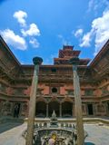 Sundari Chowk of Patan Durbar Square royalty free stock photo