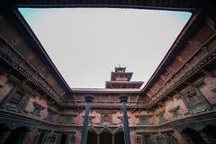 Sundari Chowk von Quadrat Patan Durbar lizenzfreie stockfotografie