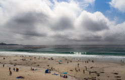 Sunday Afternoon at Carmel By the Sea Royalty Free Stock Images