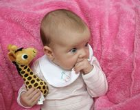 Sunday baby Stock Photo