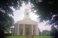 A Sunday church service at Vicksburg, Mississippi stock images