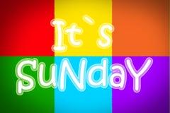 Sunday Concept Stock Photo