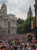 Sunday crowd in London royalty free stock images