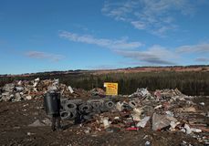 Sunday at the Dump Royalty Free Stock Images
