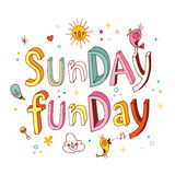 Sunday funday Royalty Free Stock Photo