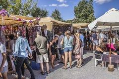 Sunday hippy market Stock Photo