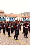 Sunday Marching parade Arequipa Stock Photos