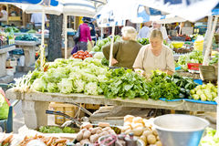 Sunday market Royalty Free Stock Images