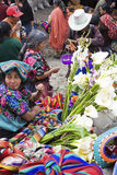Sunday market in Chichicastenango Royalty Free Stock Photo