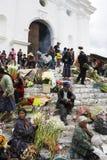 Sunday market in Chichicastenango Royalty Free Stock Photography