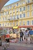 Sunday market, Nice, France Royalty Free Stock Images
