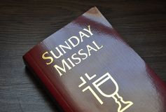 Sunday missal Stock Photography