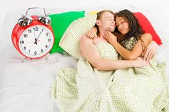 Sunday morning laziness Royalty Free Stock Photography