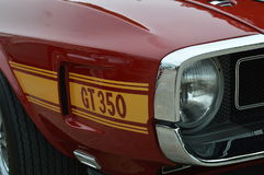 American Car Day at Brooklands Motor Circuit. Stock Photography