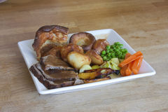 Sunday roast Royalty Free Stock Photos