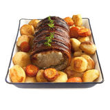 Sunday rolled pork roast Royalty Free Stock Image