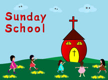 Sunday School Stock Photo