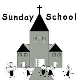Sunday School. Children go to Sunday School -Christian Sunday School Stock Image