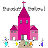 Sunday School Royalty Free Stock Image