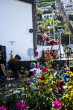 Sunday Services in Camara de Lobos  is a fishing village is near the city of Funchal a Stock Photos