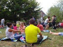 Sunday Summer Jazz Concert Stock Photo