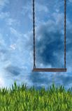 Sunday Swing. A premade background for artists to use in their artwork Royalty Free Stock Photography
