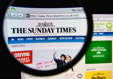 The Sunday Times Royalty Free Stock Photos