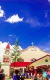 Sunday Tradition. Ordinary Sunday church @ kamay ni hesus Royalty Free Stock Image