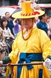 Folk celebrations in Seoul, Korea royalty free stock photography