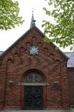 SUNDBY KIRKE DANISH STATE CHURCH Stock Photos
