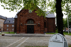 SUNDBY KIRKE DANISH STATE CHURCH Royalty Free Stock Image