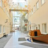 Sunderby szpital Obrazy Royalty Free