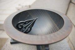 sundial Кореи Стоковые Фото