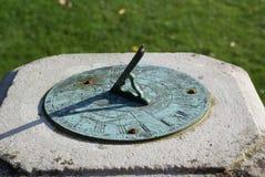 sundial fotografia stock